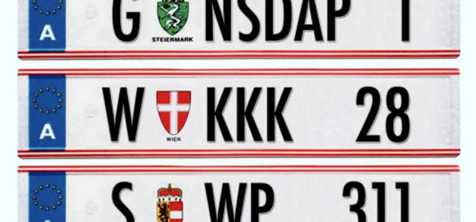 Zakazane tablice rejestracyjne