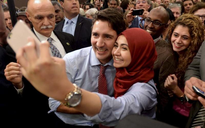 Syn Trudeau nadzieją kanadyjczyków