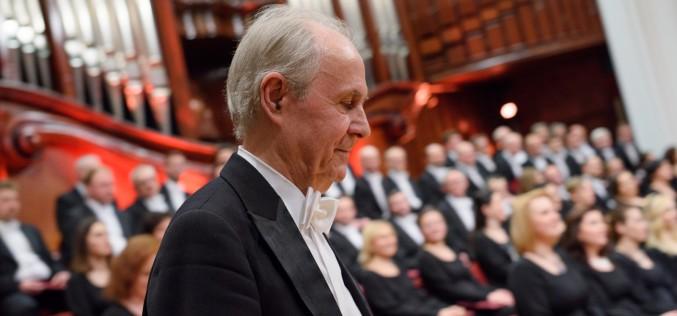 Koncert chóralny wFilharmonii Narodowej zokazji 1050. rocznicy Chrztu Polski