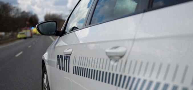 Policjant zciężką nogą