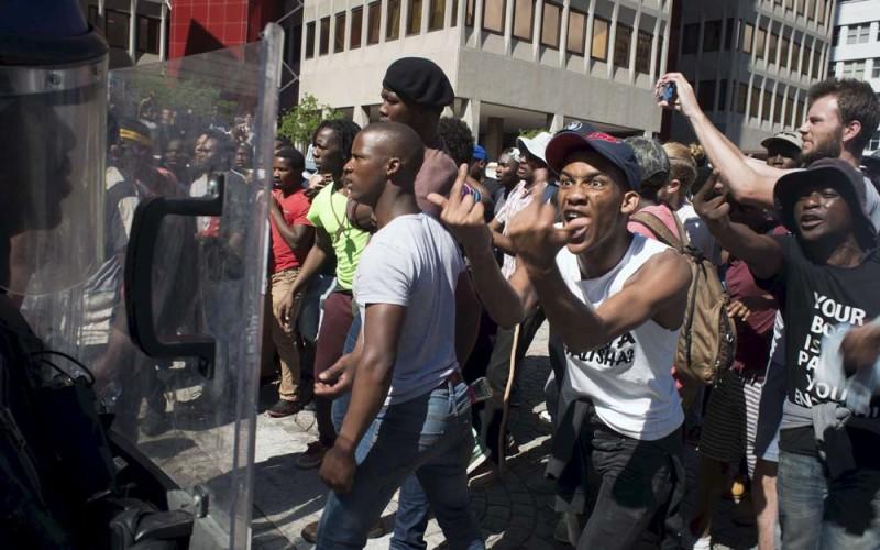 Afrykański przylądek protestu