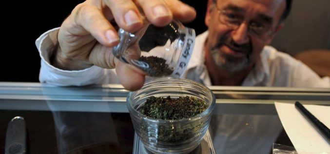 Batalia omedyczną marihuanę