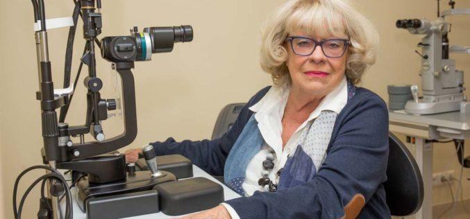 Laser przywraca wzrok