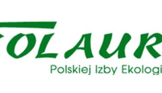 """XV edycja ogólnopolskiego Konkursu """"Ekolaury Polskiej Izby Ekologii"""""""