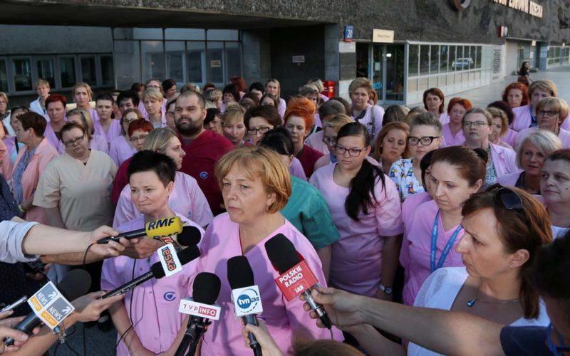 Wielki odpływ pielęgniarek