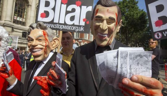 Iracki pręgierz Tony'ego Blaira