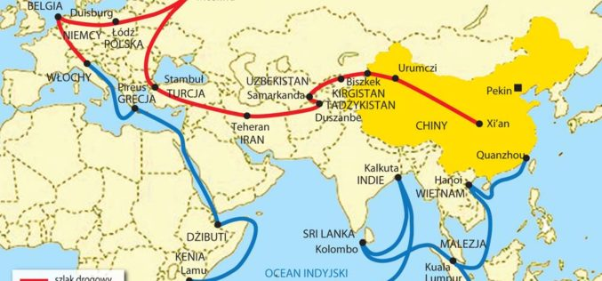 Chiny ruszają nazachód