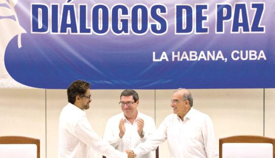 W Kolumbii umilkły strzały