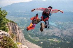 Swobodne spadanie  wLauterbrunnen