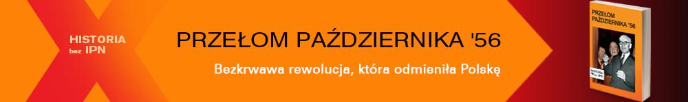"""Banner książki """"Przełom Października '56"""""""