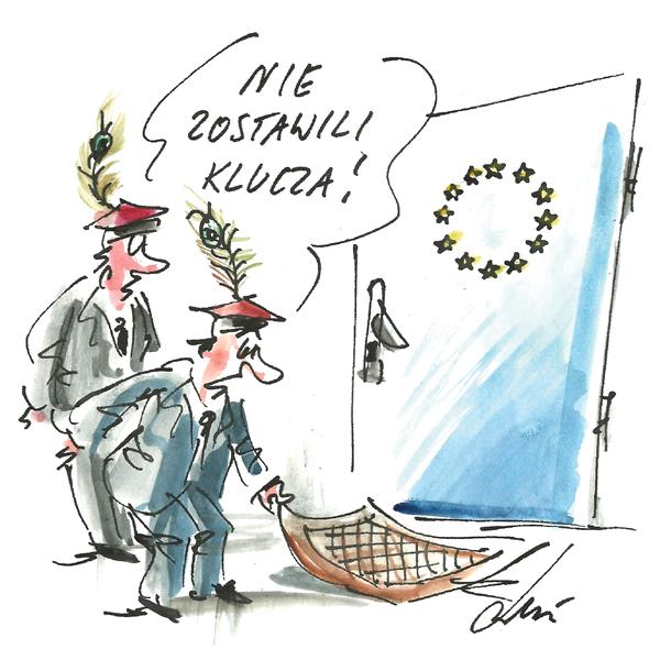 Rysunek G. Bąkowskiego z nr 12/2017