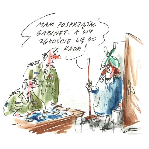Rysunek G. Bąkowskiego z nr 13/2017