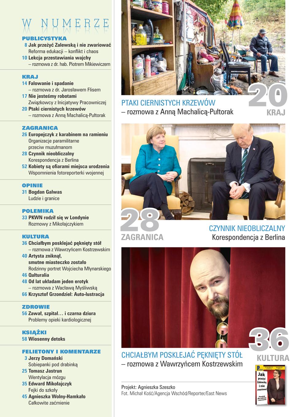 spis treści numeru 13/2017