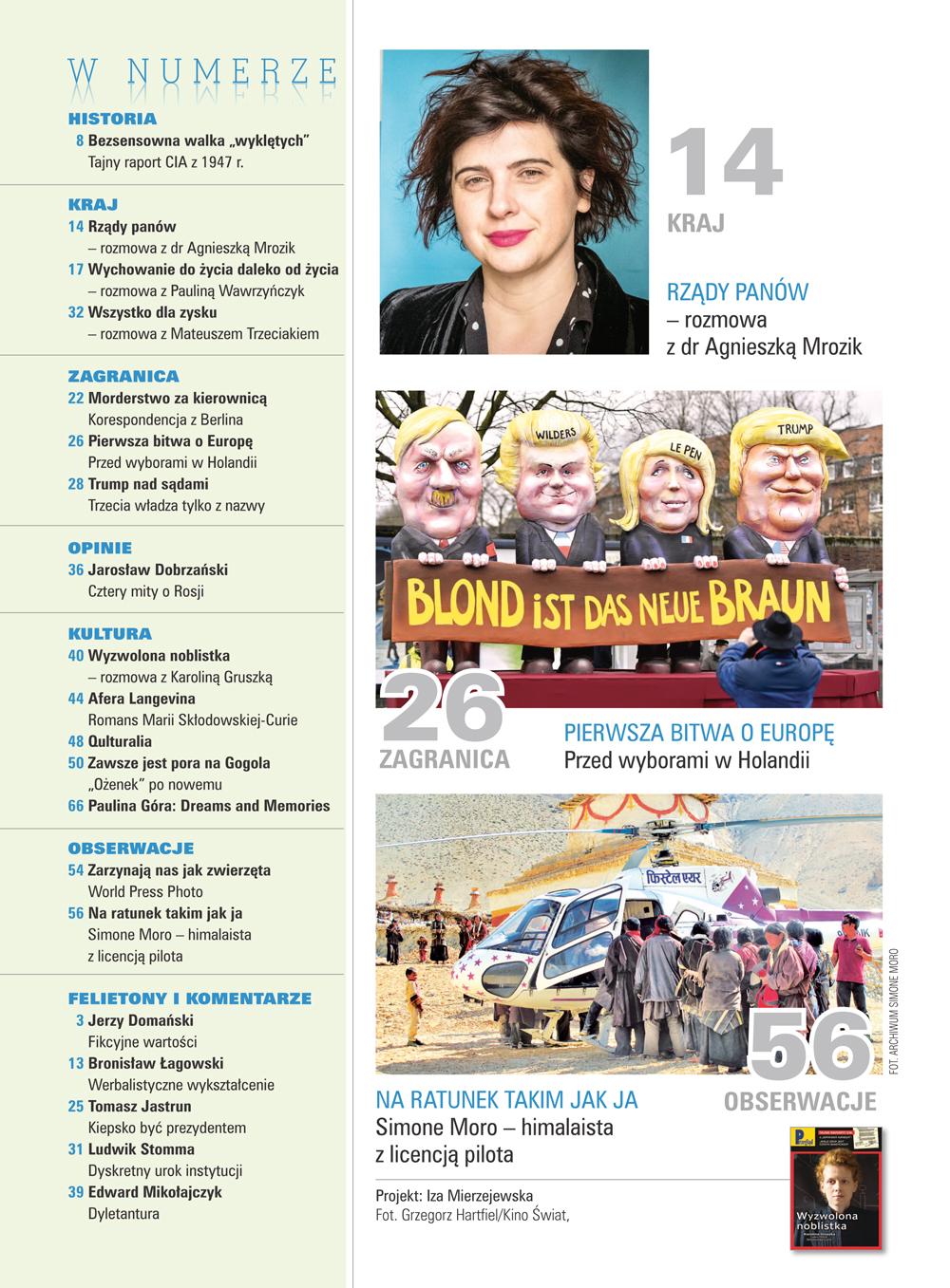 spis treści numeru 10/2017