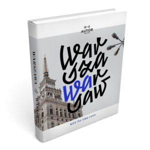 """Okładka albumu """"Warszawa. Warsaw"""""""