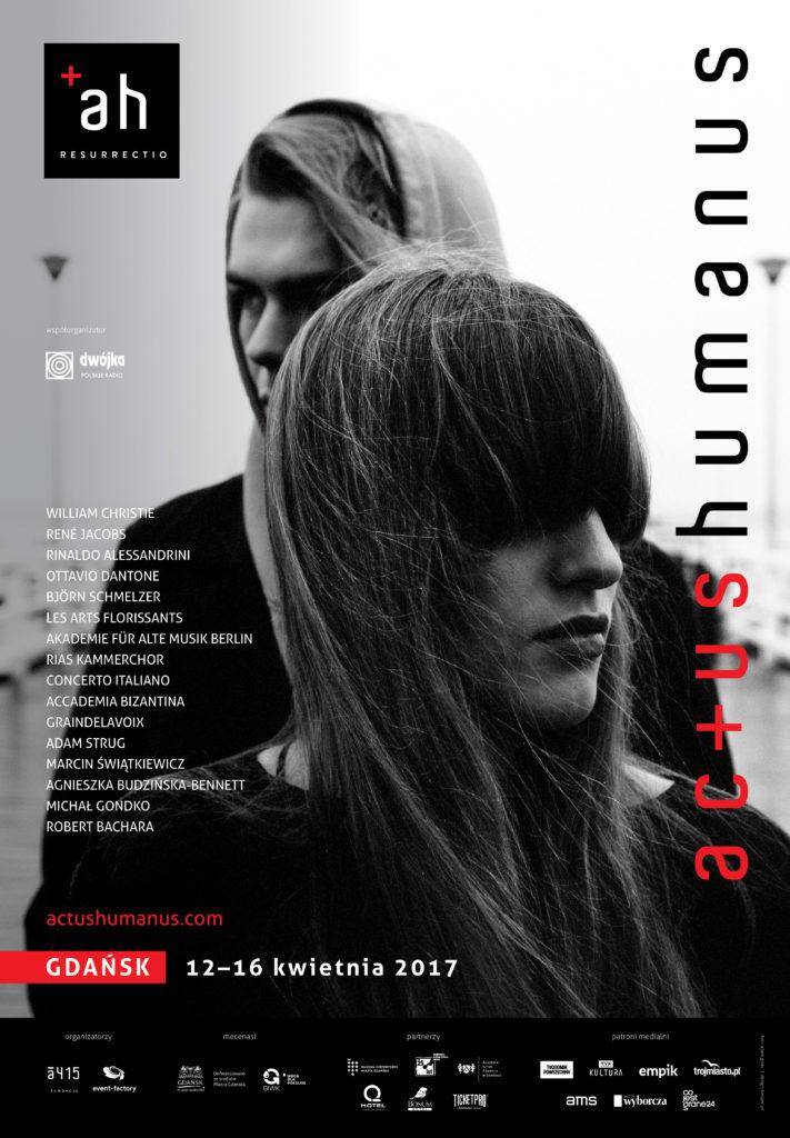 Plakat Festiwalu Actus Humanus Resurrectio 2017