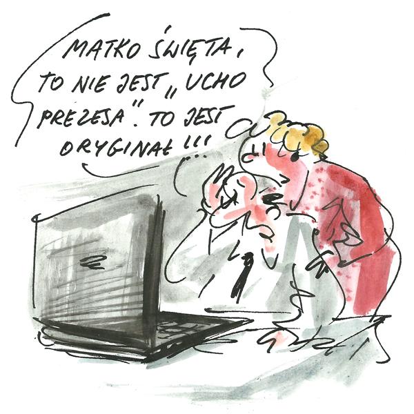 Rysunek G. Bąkowskiego z nr 16/2017