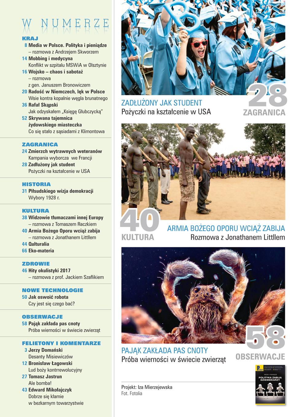 spis treści numeru 16/2017
