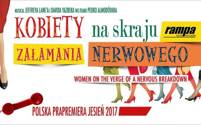 """""""Kobiety naskraju załamania nerwowego"""" wgfilmu Almodóvara już wPolsce!"""