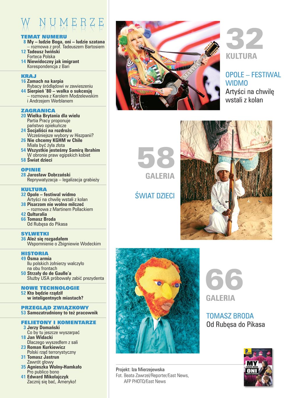 spis treści numeru 22/2017