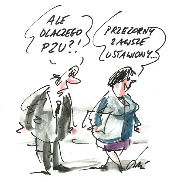 Rysunek G. Bąkowskiego z nr 25/2017