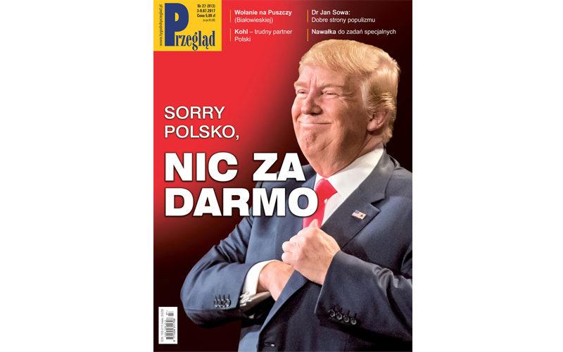 Wnajnowszym (27/2017) numerze Przeglądu polecamy
