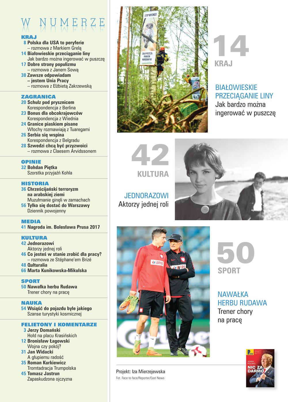 spis treści numeru 27/2017