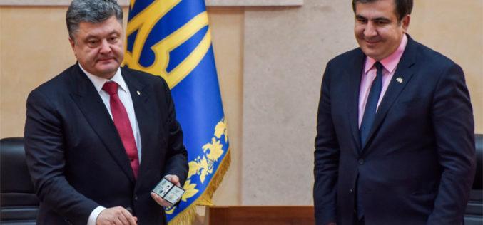 Długa lista przekrętów Saakaszwilego