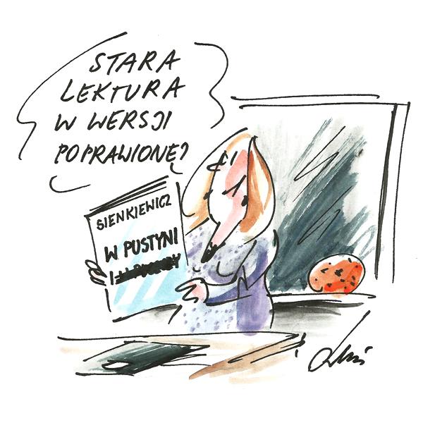Rysunek G. Bąkowskiego z nr 33/2017