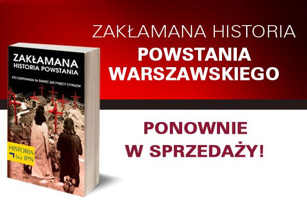 Okładka książki opowstaniu warszawskim
