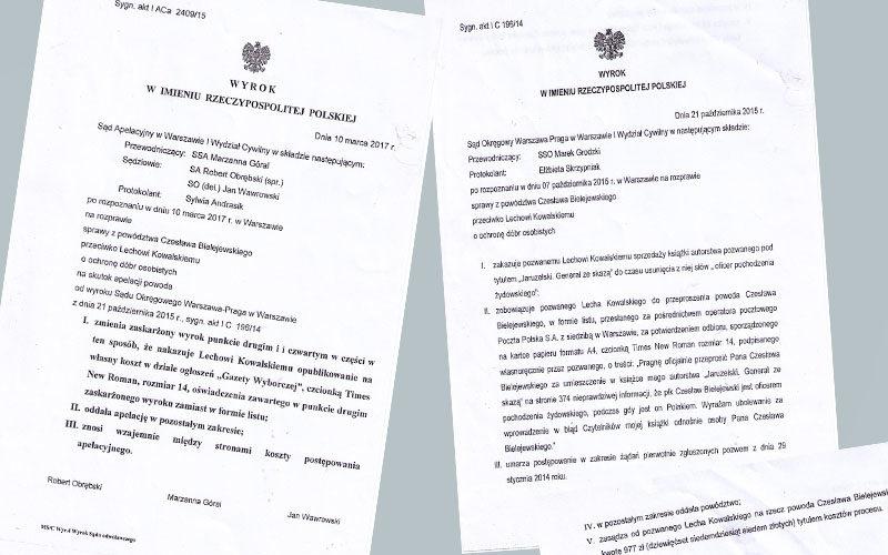Kłamstwa ppłk. Lecha Kowalskiego