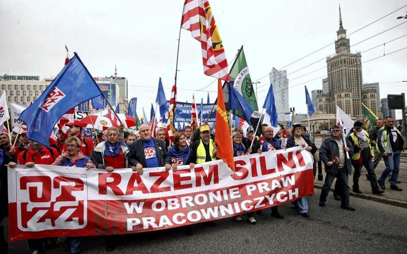 Zhistorii polskiego uzwiązkowienia