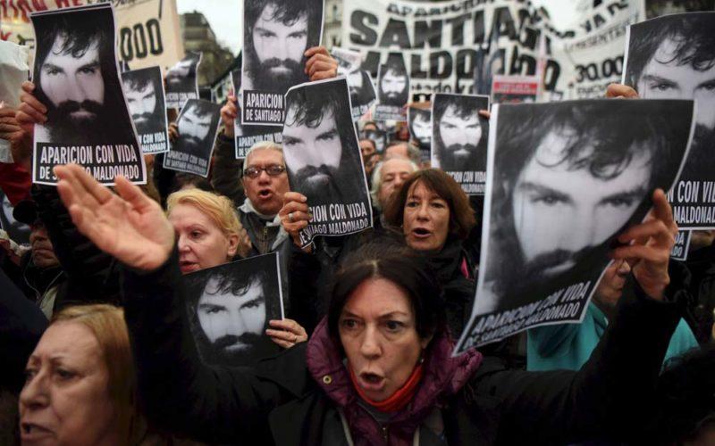Argentyna pyta, gdzie jest Santiago Maldonado