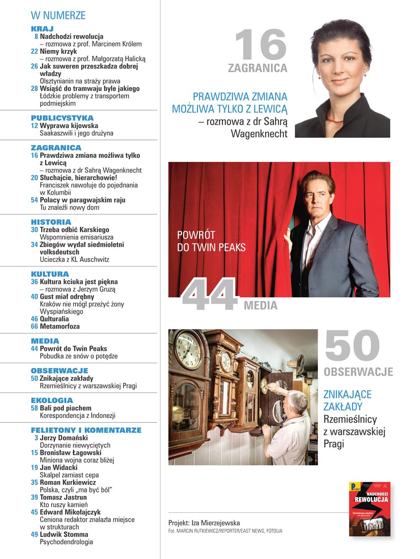 spis treści numeru 38/2017