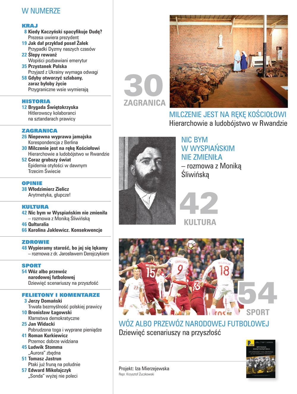 spis treści numeru 40/2017