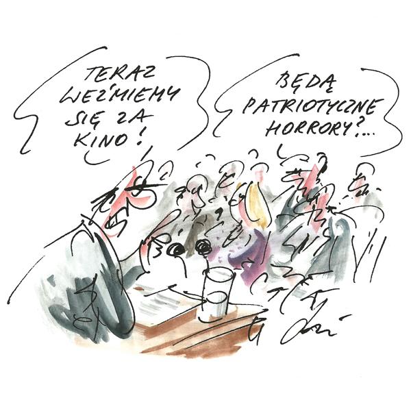 Rysunek G. Bąkowskiego z nr 42/2017