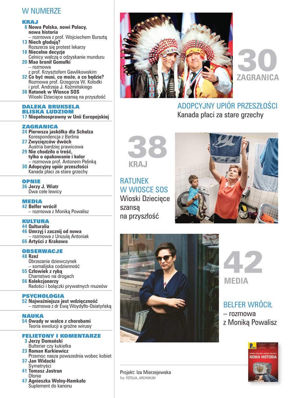 spis treści numeru 43/2017