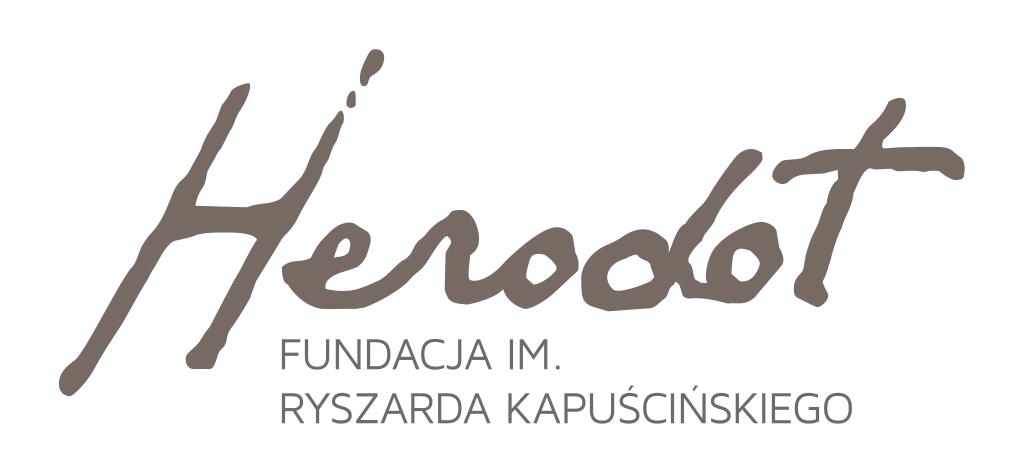 Logo Fundacji im.Ryszarda Kapuścińskiego – Herodot