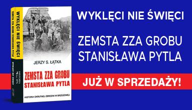 """Okładka książki """"Zemsta zza grobu Stanisława Pytla"""""""