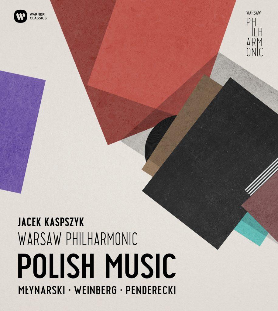 "Okładka albumu ""Polish Music – Młynarski, Weinberg, Penderecki"""