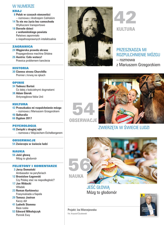 spis treści numeru 8/2018