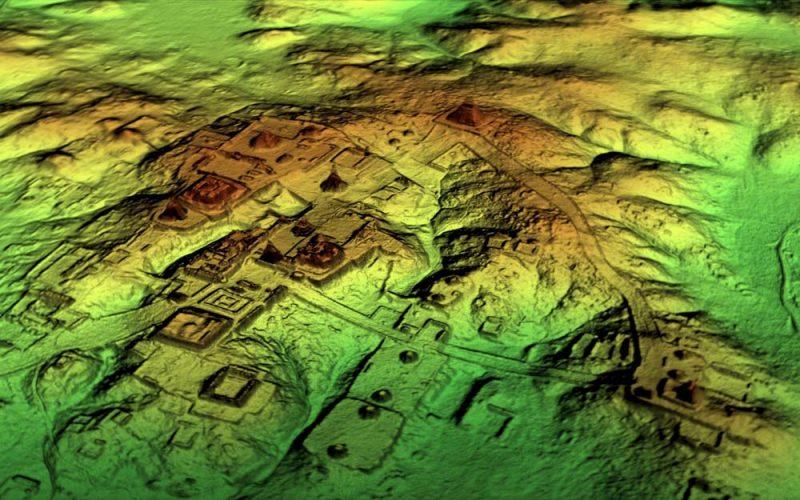 Gigantyczne miasto Majów wgwatemalskiej dżungli