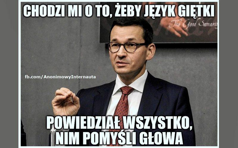 Obsesje premiera Morawieckiego