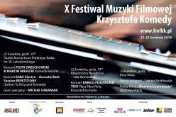 X Festiwal Muzyki Filmowej Krzysztofa Komedy