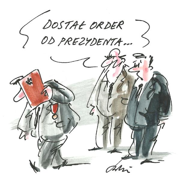 Rysunek G. Bąkowskiego z nr 12/2018