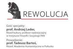 Debata WSFT: Andrzej Leder oRewolucji