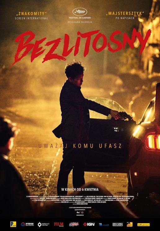 """Plakat filmu """"Bezlitosny"""""""