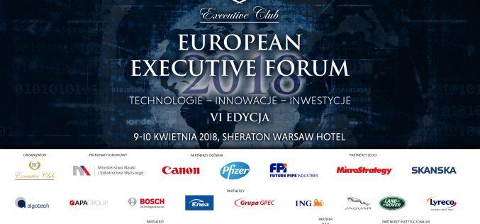 European Executive Forum już wkwietniu!