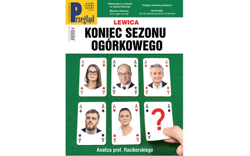 Wnajnowszym (23/2018) numerze Przeglądu polecamy