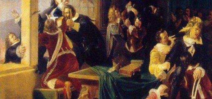 Najstarszy czeski patent: defenestracja